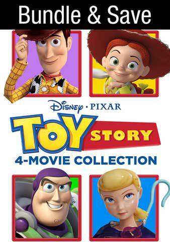 Toy Story 1-4 Bundle